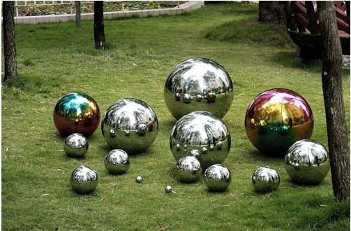 Attractive 5cm 8cm 10cm 12cm 18cm 20cm 25cm 30cmstainless Steel Sphere For Garden
