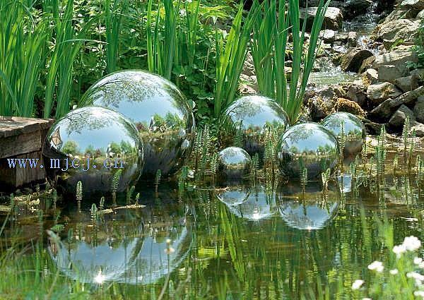 stainless steel ball for gardenfountainssculpture decorative