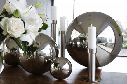 Metal Decorative Balls Beauteous Stainless Steel Spherehollow Stainless Steel Ballstainless Steel Design Decoration